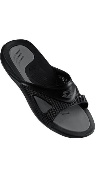 arena Hydrofit Hook Sandals Men black-black-anthracite